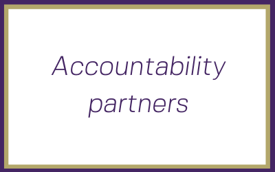 Why having an accountability partner can save your new business