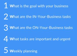 The 5 W's framework