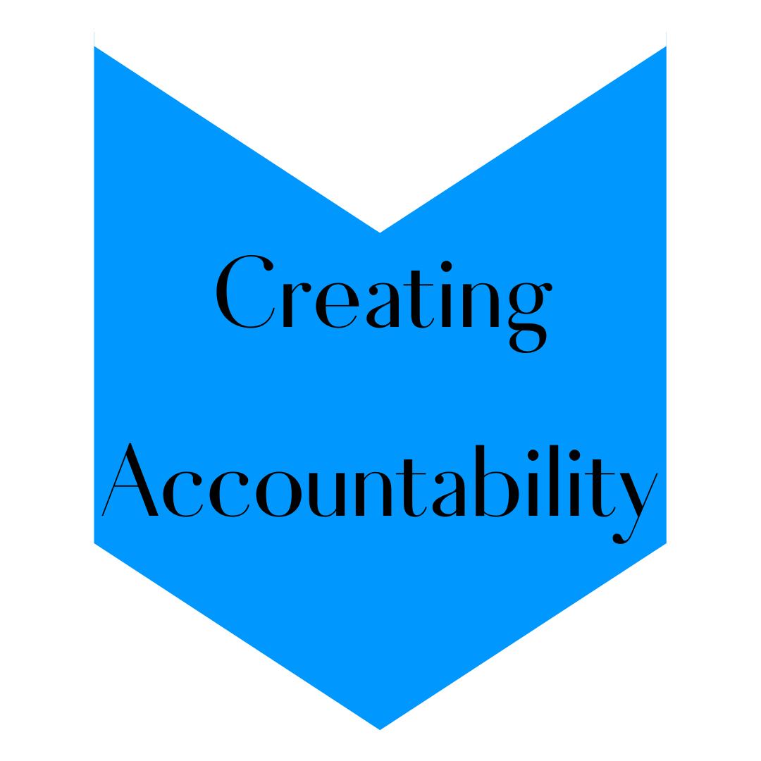 Create accountability