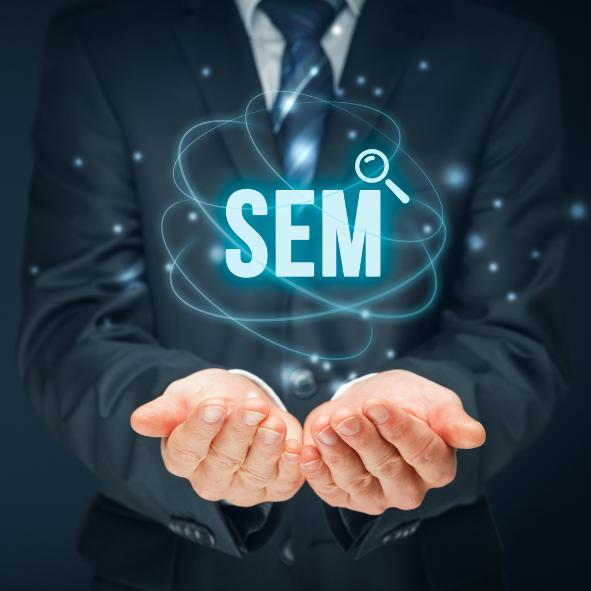 SEM - Acronym - Search engine marketing