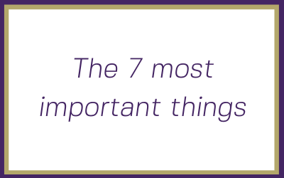 As an aspiring Solopreneur here are the seven most important things to consider about your new business