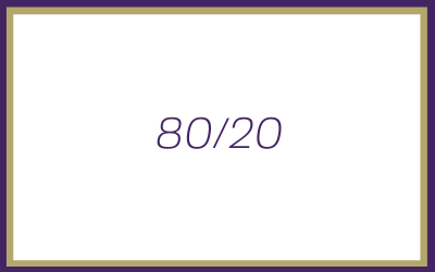 Why the 80/20 rule is even more important for you as a Solopreneur today