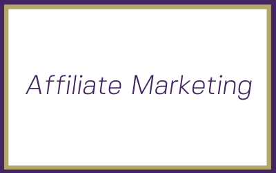 Affiliate marketing – Why you should be looking at it in your small business
