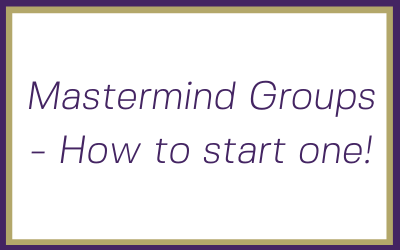 Mastermind groups – How to start one!